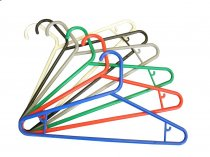 Coloured Large Hangers - Red