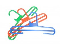 Coloured Trouser Hangers - Blue