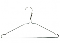Heavy Duty Wire Coat Hanger 410mm (W)