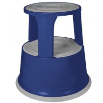 Metal Kick Stool- Blue