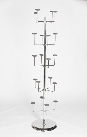 20 Arm Hat Stand - Chrome