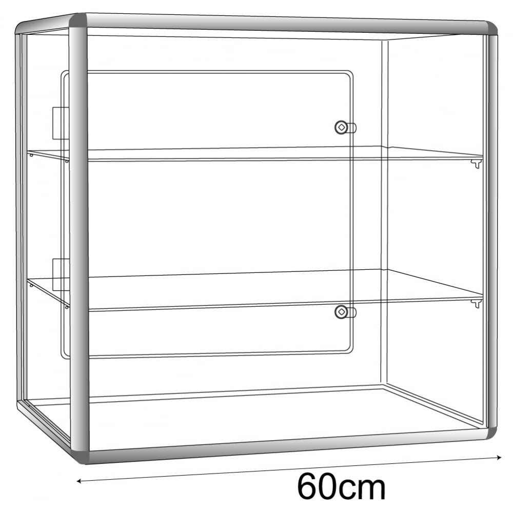 fixtures and acrylic retail case countertop displays l tower shelf display