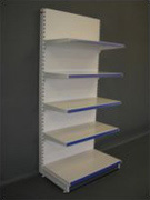 Tegometall Shelving units, Tegometall Shelving Gondola and wall units complete